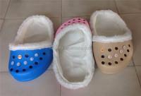 Unique high quality Eva shoe bottom giant crocs shoe shape pet bed dog slipper beds