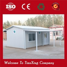 sandwich panel low cost office prefab 20ft container design house