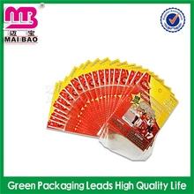 Customized graphics wholesales bopp bag