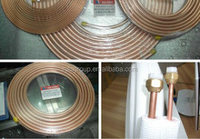 China manufactured insulation copper tube / pipe for air conditioner