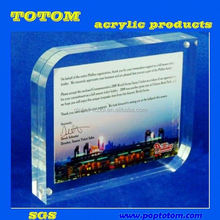 POP 2012 Most Attractive And Creative Clear Lucite Acrylic Photo Frame