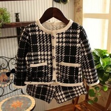 Van Petty girls spring houndstooth suit small piece suit jacket + shorts