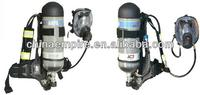 Fire fighting air positive pressure breathing apparatus SCBA GA124-2013