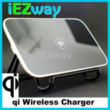 2015 hot sales promotional quality fashion square Universal qi wireless charger