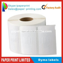 """DYMO COMPATIBLE LABELS DYMO 30299 3/8"""" x 3/4"""" 1500 labels per roll (dymo 30299)"""