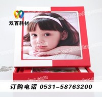 PU album cover with case for baby design China most professional manufacturer