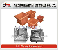Specialist Supplying Plastic Injection Flower Pot Moulding for Home Decoration