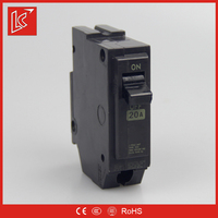 Factory supplys newest RCCB/MCB circuit breaker strong flame-retardant and anti-aging