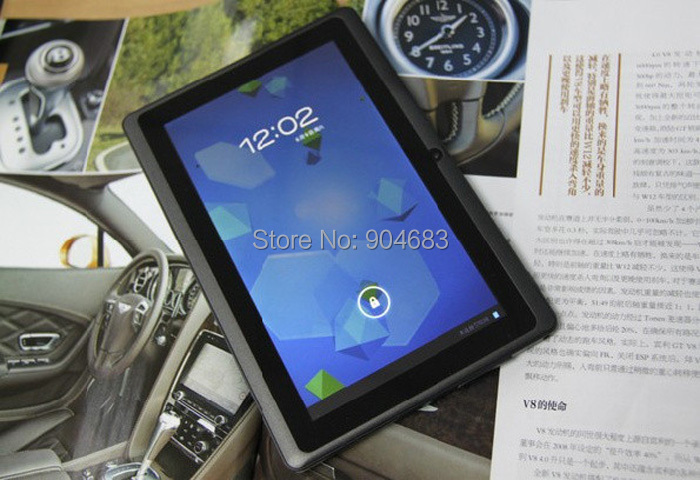 7 inch Q88 Q8H allwinner A23 Dual core (or A33 Quad Core) Android 4.4 512M/4G tablet pc Capacitive Dual camera WIFI External 3G