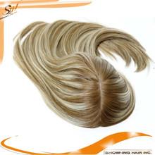 silk base mongolian hair topper wig