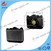 Hot Sale High Quality Tricycle Radiator JP0018, Tricycle Spare Parts, Radiator