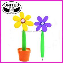 cheap novelty flower pen for promotion