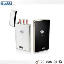 High-end Flat Tip E-Cigarette Free Sample 2015 iBuddy New Portable Buy E Cigarette Vaporizer Kit, PCC E Pard for Sale
