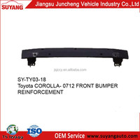 Toyota corolla 07-12 black front bumper support manufacturer products