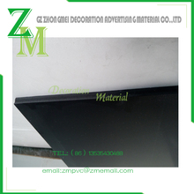stock pvc foam board for 2mm*1220*2440 black color pvc foam sheet pvc foam board