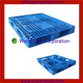 Seis corredores HDPE plástico verde de paletas