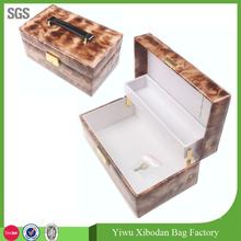 Cosmetic Makeup Case Salon Studio Nail Art Eyelash Tools Train Box Bag Case