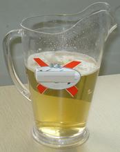 1.5L Capacity food grade popular design beer pitcher