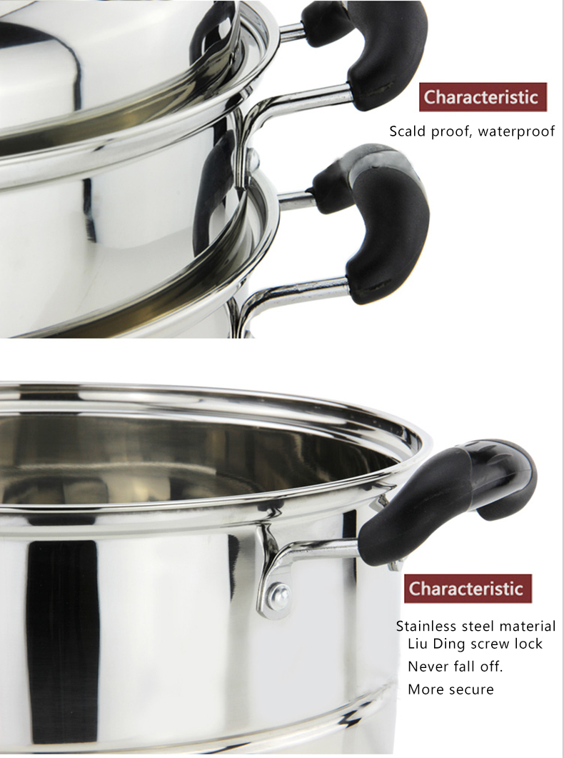 edelstahl couscous topf/couscoussier/dampfgarer mit deckel küche ... - Küche Boiler