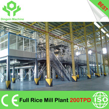 Automatic 18 to 300 TPD Complete Rice Mill Machinery Full Rice Mill Plant Rice Mill Line