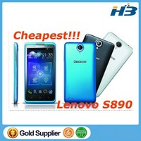2015 new Lenovo S890 4GB 5.0 inch IPS Capacitive 5-point Multi-touch Screen Android Phone