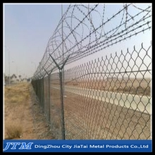 (17 years factory)Pvc coated airport security fence/Chain link mesh airport fence