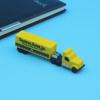 Customized logo soft PVC usb cute truck USB Flash Drive 1gb 2gb 4gb 8gb 16gb 32gb 64gb