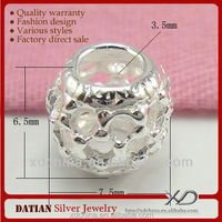 XD P265 925 sterling silver hollow beads spacer wholesale beads