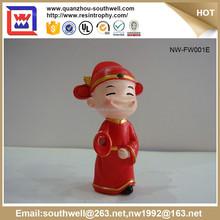 Latest Popular Resin Wedding Present Figurine Chinese Statue