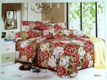hot sale 4pcs pure cotton polyester embroidery fancy designer bed sheet patchwork quilt