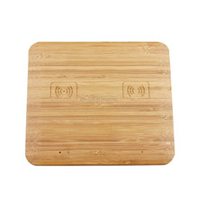 Wood/Bamboo For Iphone and Samsung Universal Mobile Phone QI Wireless Charger