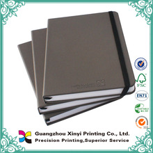 Office suppliers wholesale hardcover handband leather school diary cover design with bookmark