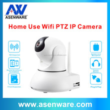 Wireless Indoor Dome PAN TILT P2P IP Camera with Plug & Play, Support 128G TF Card records for Video CCTV Security system