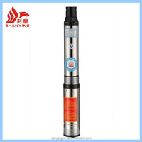 Y103QJ Deep Well Submersible Water Pump Price India With Multiple Impeller Structure High Lift