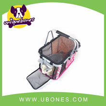pet products Pet soft crate dog aluminum support+oxford cloth cage Foldable dog carrier