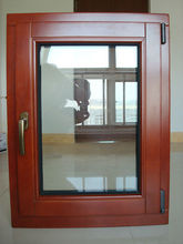 Wood Clad Thermal Break Aluminum Casement Window