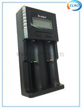 Soshine SC-H2 LCD Universal Lithium Battery Charger 3.7V LiFePO4 3.2V 26650 18650 1.2V 9V NI-MH 9V Li-ion Charger