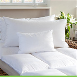 100%polyester fabric down pillow and anti-mite down pillow