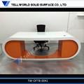 2015 moderno escritorio de oficina muebles hechos a medida