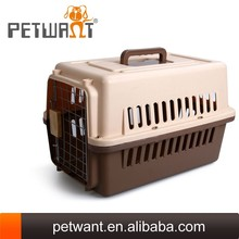 Airline travelling dog crates /kennels with wheels