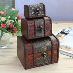 Fashion makeup storage box the crocodile grain leather jewelry box jewelry gift boxes hard case cosmetic bag
