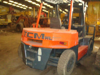 Japan TCM forklift 5 ton, FD 50 used but perfect forklift sale in China