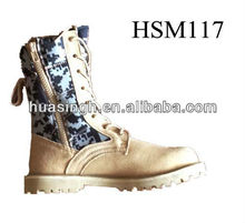 8 inch multifunctional light tan+camouflage upper hot weather desert boots