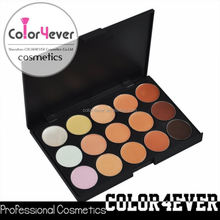 New 15 Color Face Concealer Make Up Camouflage Palette glow in the dark