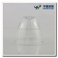 Hot sale round clear glass lamp-chimney factory wholesale