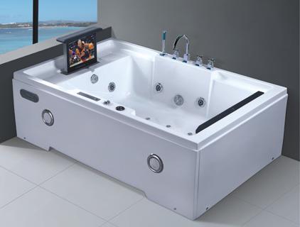ad grandi dimensioni vasca idromassaggio jacuzzi interna con, Disegni interni