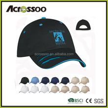 Plain color 100% cotton twill snapback baseball cap + sharp color embroidery logo & eyelets