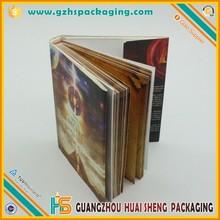 Mejor calidad de impresión personalizadas divertido carta libro en forma de