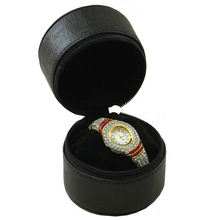 Exquisite rotating watch box personalized watch leather box 1 grids welcome ODM OEM