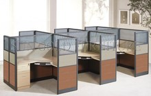 Classic Durable High Desktop Office Desk,Call Center Design Office Cubicles(SZ-WS344)